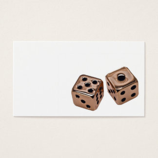 Copper Dice Business Card