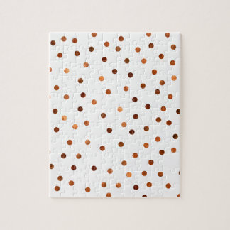 Copper Dots Pattern Puzzle