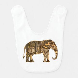 Copper Elephant Circuit Board Bibs