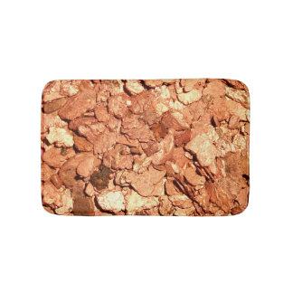 Copper Flakes Bath Mat