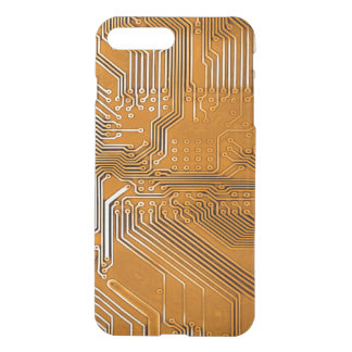 Copper Ghost Circuit Board Design iPhone 7 Plus Case
