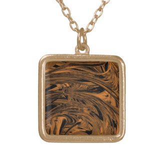 Copper Glory Gold Plated Necklace