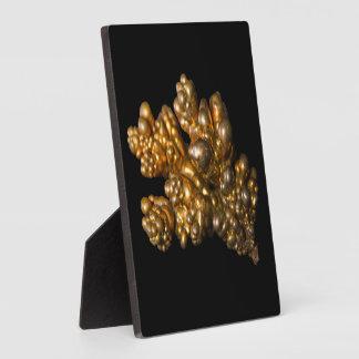 Copper - Gold Colored Mineral - Photo Plaque