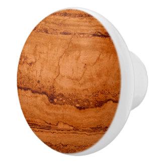 Copper Granite Ceramic Knob