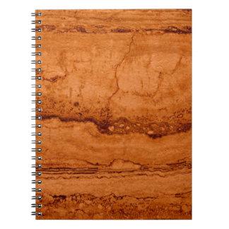 Copper Granite Notebook