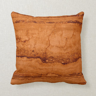 Copper Granite Throw Pillow