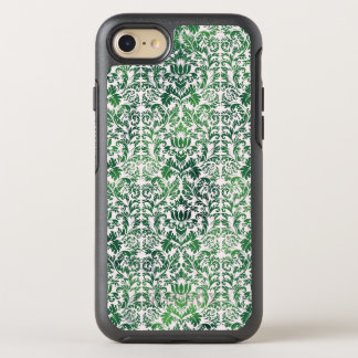 Copper Green Sea Weed Distressed Damask Patina OtterBox Symmetry iPhone 8/7 Case