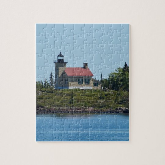 Copper Harbour Lighthouse Jigsaw Puzzle