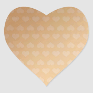 Copper Hearts BREAKER 3d cooler color floral wave Heart Sticker