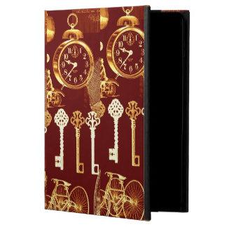 Copper Keys & Clocks Steampunk Dream Foundry iPad Air Case