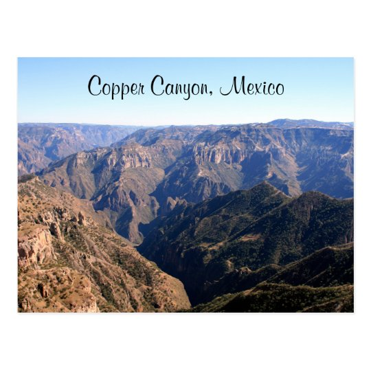 copper mexico postcard