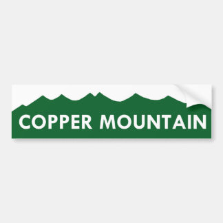 Copper Mountain Colorado Bumper Sticker