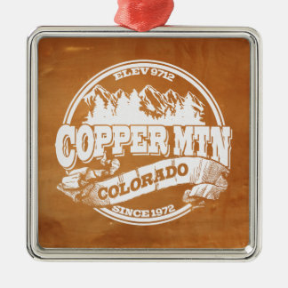 Copper Mountain Old Circle Copper Metal Ornament