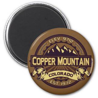 Copper Mountain Sepia Magnet