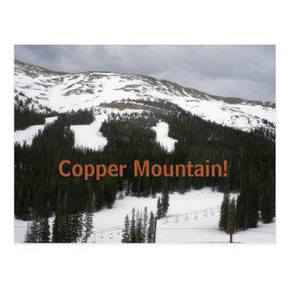 Copper Mountain Ski Area Postcard