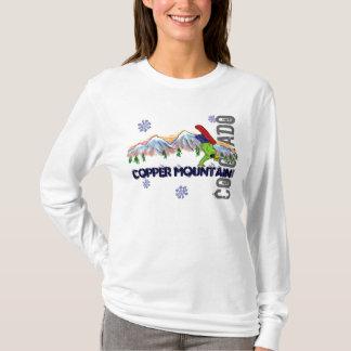 Copper Mountain snowboard ladies hoodie