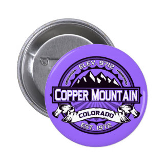 Copper Mountain Violet Button