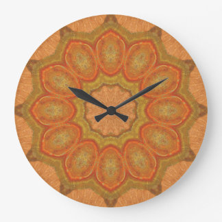 Copper Patina Mandala 00711-1 Large Clock