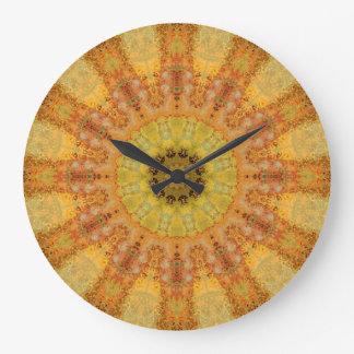 Copper Patina Mandala 01569-2 Large Clock