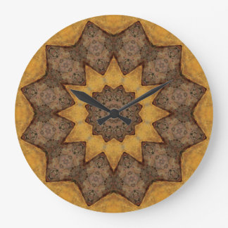 Copper Patina Mandala 09943-1 Large Clock