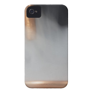 copper pipe of a distillery with steam. iPhone 4 case