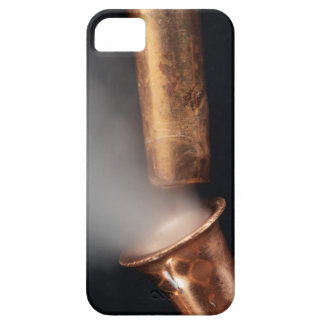 Copper pipe with steam barely there iPhone 5 case
