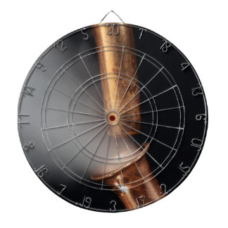 Copper pipe with steam dart boards