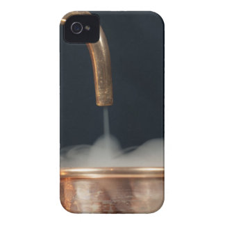 Copper pipe with steam iPhone 4 Case-Mate case