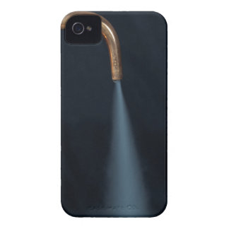 Copper pipe with steam iPhone 4 cases