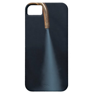 Copper pipe with steam iPhone 5 cases