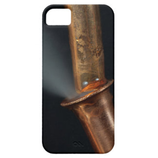 Copper pipe with steam iPhone 5 cover