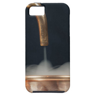 Copper pipe with steam iPhone 5 covers