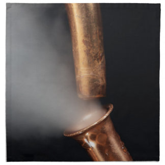 Copper pipe with steam napkin