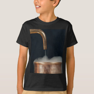 Copper pipe with steam T-Shirt