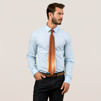 Copper Pipes Plumber Tie