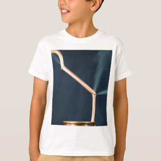 Copper pipes with a leak and steam. T-Shirt