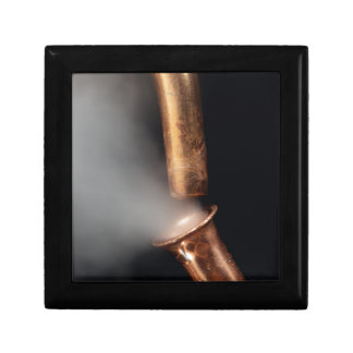 Copper pipes with steam gift box