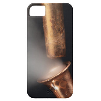 Copper pipes with steam iPhone 5 cover