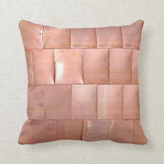 Copper Plates Cushion