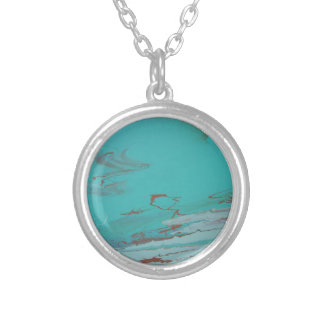 Copper Pond Silver Plated Necklace