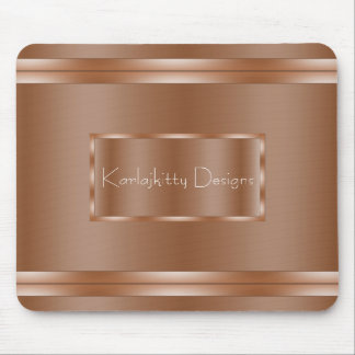 Copper Reflection Mouse Pad