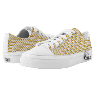 Copper Rhombus™ M/W Low Top Shoes Printed Shoes