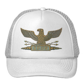 Copper Roman Eagle Cap
