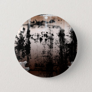 Copper Rusted Grunge Gothic 6 Cm Round Badge