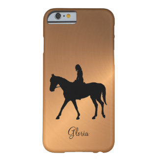Copper Shine Equine Barely There iPhone 6 Case