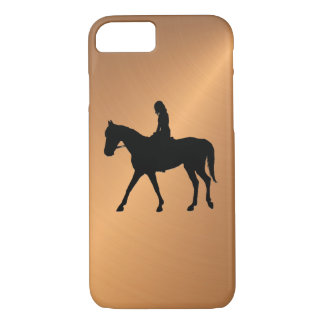 Copper Shine Equine iPhone 8/7 Case