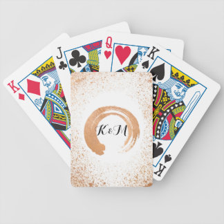 copper Spray Wedding Collection Gifts Bicycle Playing Cards