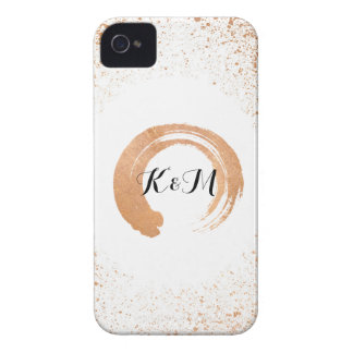copper Spray Wedding Collection Gifts iPhone 4 Cover