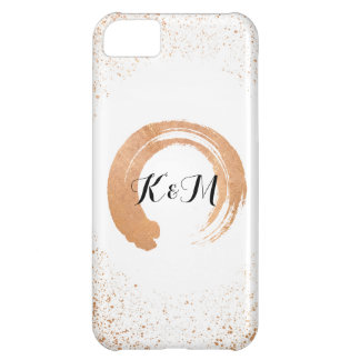 copper Spray Wedding Collection Gifts iPhone 5C Case