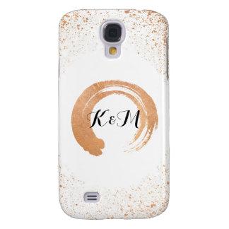 copper Spray Wedding Collection Gifts Samsung Galaxy S4 Case